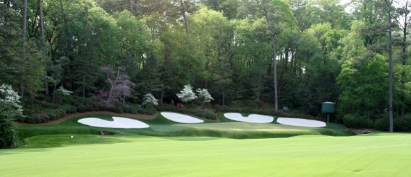 Amen Corner requires solid draw shots