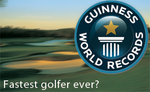Guinness Golf Record